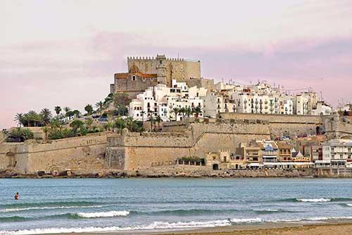 Panorámica del castillo de Peñíscola