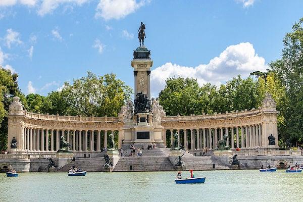 Parque del Retiro imagen cortesía de José Luis Vega/ Flickr
