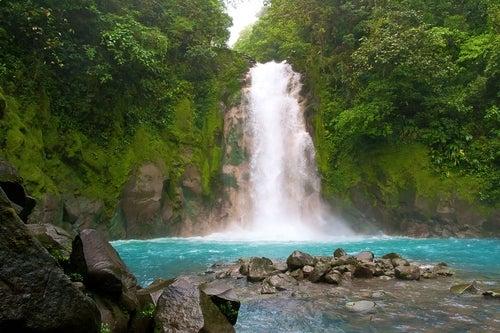 Paisaje natural de Costa Rica
