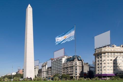 Vista debuenos Aires en Argentina