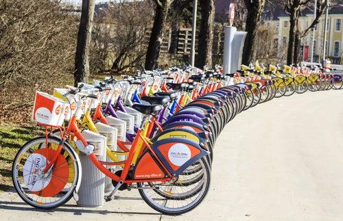 Bicicletas en Viena