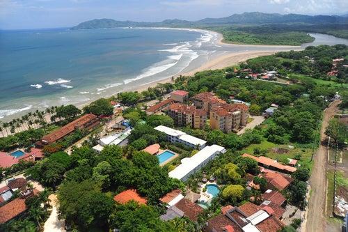 Vista de Tamarindo en Costa Rica