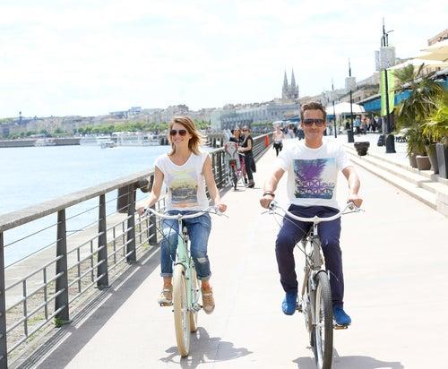 Bicicletas en Burdeos