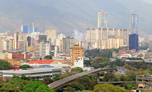 Caracas en Venezuela, una de las ciudades más peligrosas del mundo
