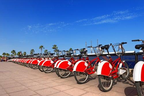 Biciletas de alquiler en Barcelona