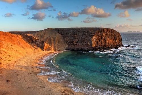 Playa Papagayo en Lanzarote