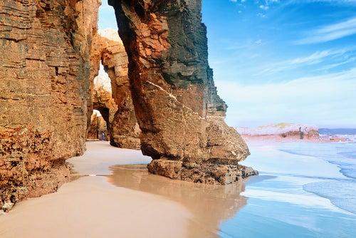 Playa Catedrales en Lugo