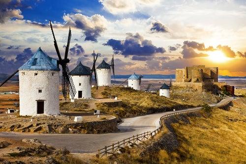 Molinos en la Ruta de Don Quijote