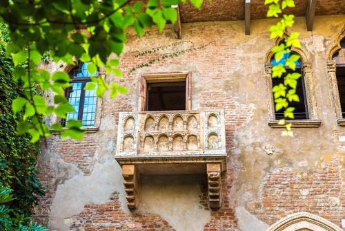 Balcón de Romeo y Julieta en Verona