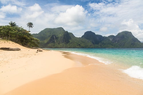 Playa en Bacuit
