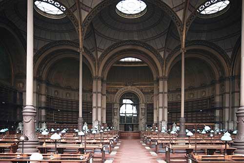 Sala-Richelieu de la Biblioteca Nacional de Francia