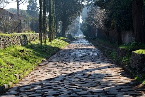 Via Appia Antica en Roma