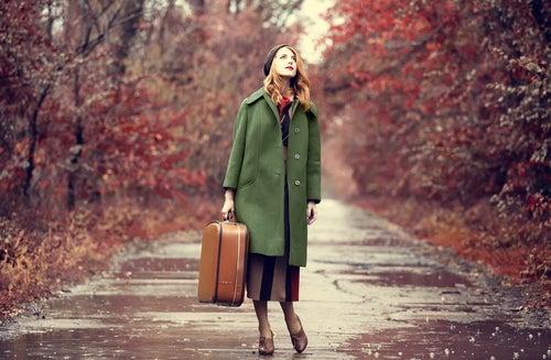 Viajera solitaria