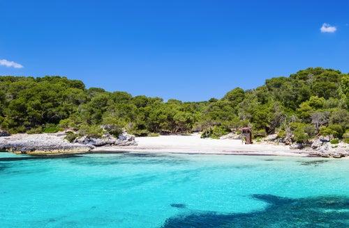 Cala Turqueta en Menorca