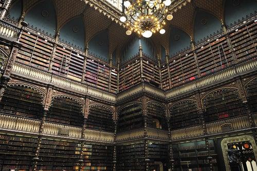 Real Gabinete de Lectura en Río de Janeiro