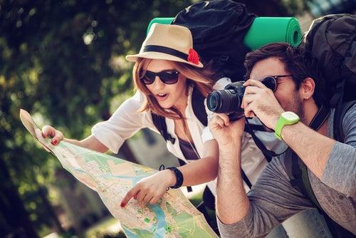 Jovenes viajeros