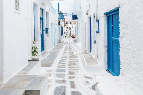 Calles de Miconos