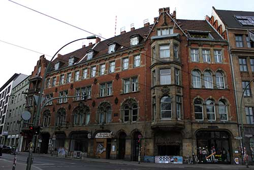 Calles del barrio judio de Berlin