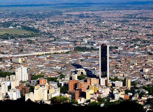 Vista de Cali en Colombia