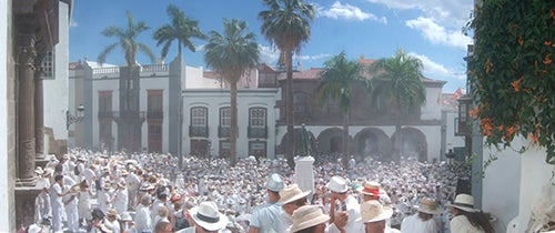 Desfile Indianos en La Palma