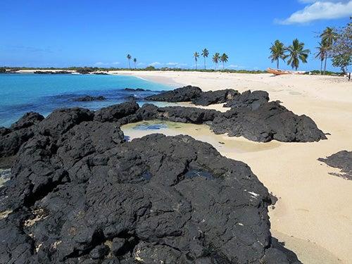 Playa en Islas comoras