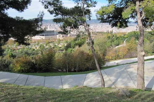 Mirador de Migdía en Barcelona