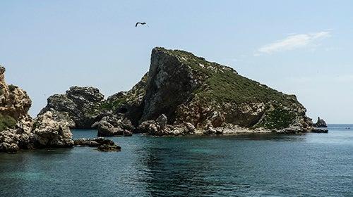 Paisaje de las islas Medas