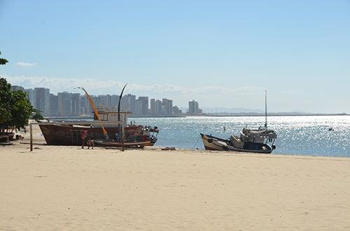 Playa de Fortaleza en Brasil