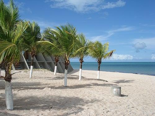 Playa en Joao Pessoa