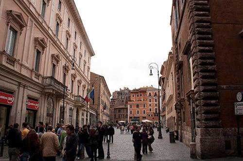 Plaza San Lorenzo de Roma