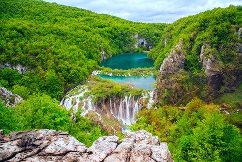 Cascadas de Plitvice en Croacia