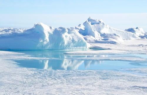 Desierto Ártico: glaciar.