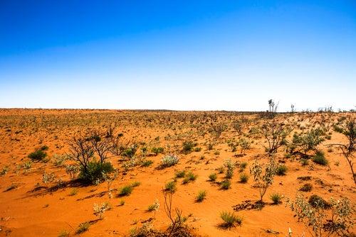 Desierto de Australia.