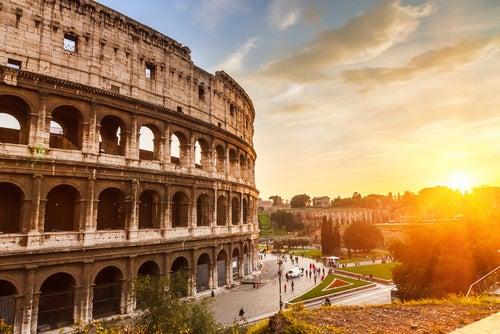 Imagend el coliseo de Roma