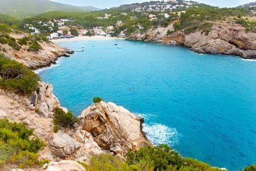 Cala Vadela en Ibiza