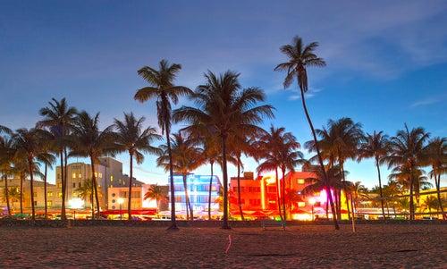 Miami Beach de noche