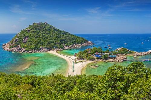 Islas paradisiacas en Tailandia