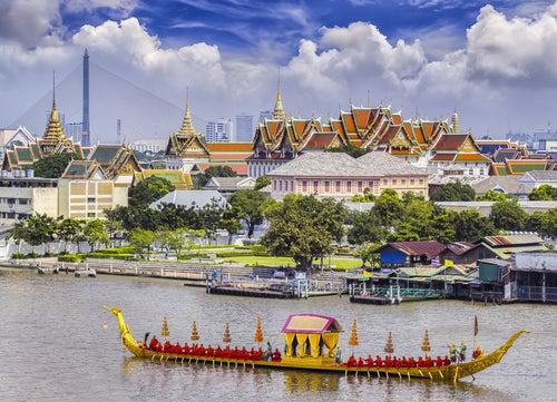 Panorámica de Bangkok en Tailandia
