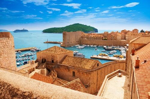 Muralla de Dubrovnik en Croacia