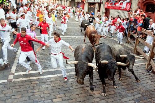 Encierro en Pamplona