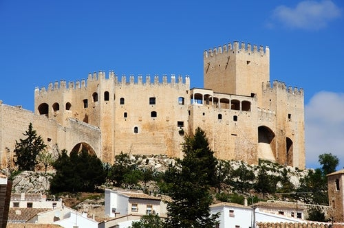 Vista del Castillo de Vélez-Blanco