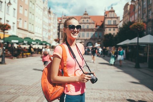 Joven turista