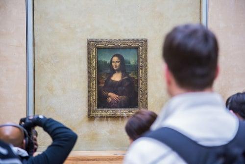 La Gioconda en el Museo del Louvre