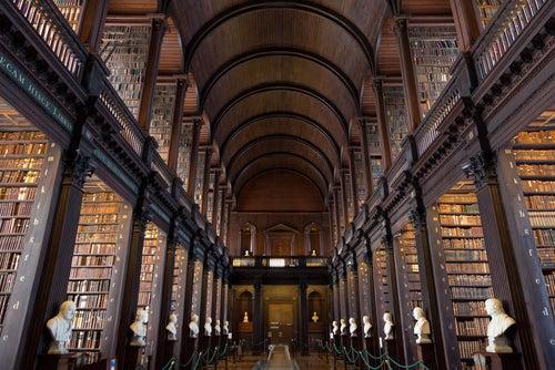 Interior del Trinity College