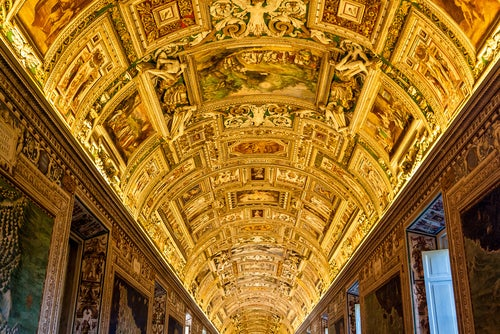 Pasillos de los Museos Vaticanos