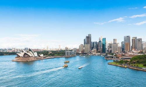 Sidney, una de las ciudades de Australia