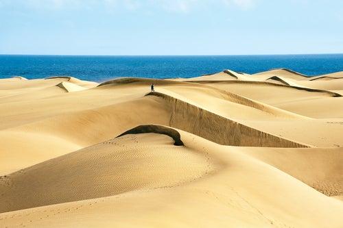 Dunas en Gran Canaria