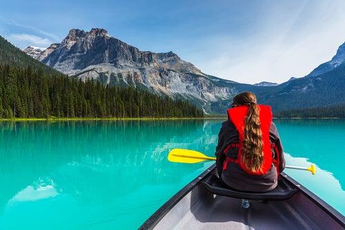 Lago Esmeralda en Alberta