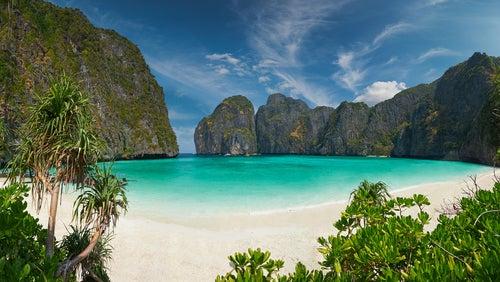 Isla Phi Phi en Tailandia