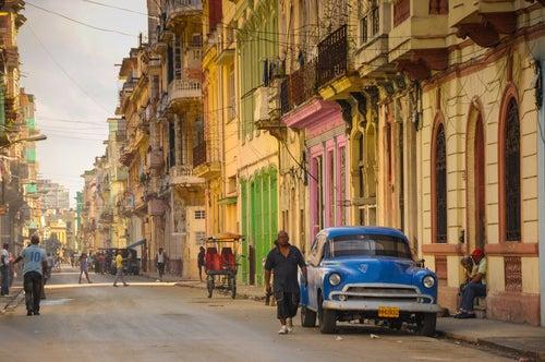 La Habana Vieja en Cuba
